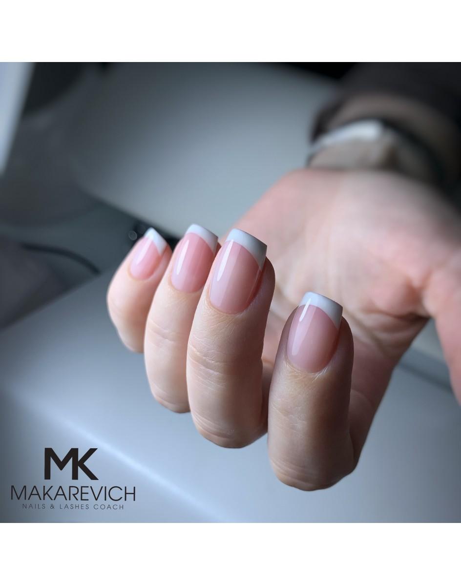 Szkolenie -  French hybrydowy malowany / french konstrukcyjny na naturalnym paznokciu